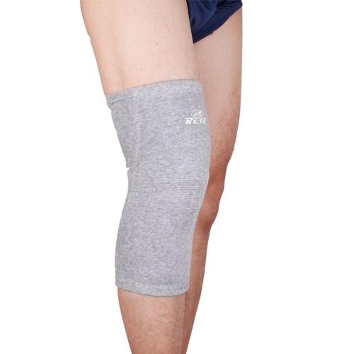竹炭の弾性スポーツ足膝サポート ブレース ラップ プロテクター膝蓋骨ガード バレーボール膝パッド