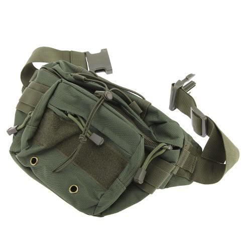Correa cintura vago vientre cadera riñonera bolsa ultra ligero multifunción para caza soldado montando itinerante acampar al aire libre