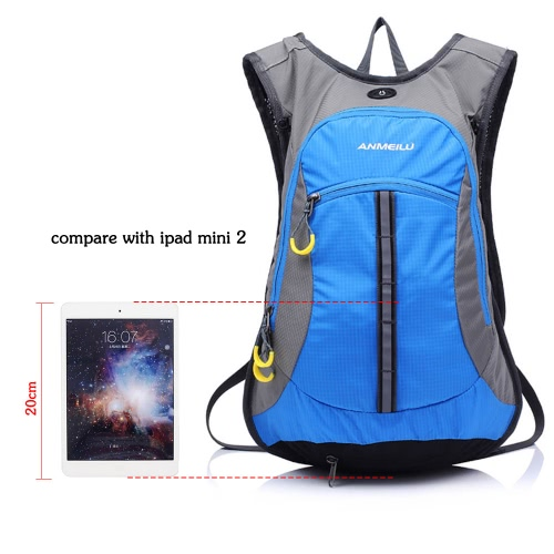 Waterresistant Shoulder Outdoor Cycling Bike Riding Backpack Mountain Bicycle Travel Hiking Camping Running Water Bag Image