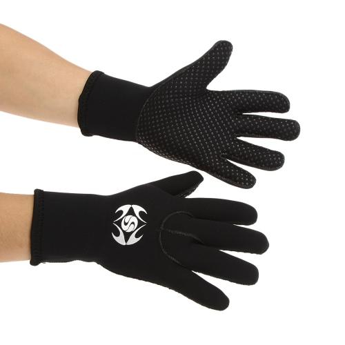 SLINX 3mm Neopren Handschuh für Tauchen Surfen Fischen Schnorcheln warme Handschuhe