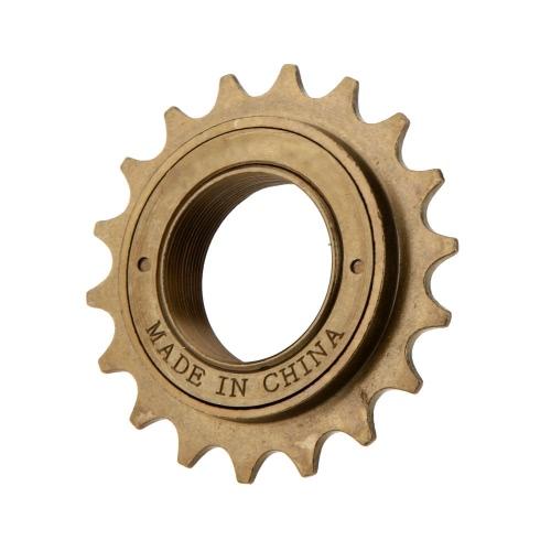 Горный велосипед велосипедов односкоростного Freewheel 18Т Браун