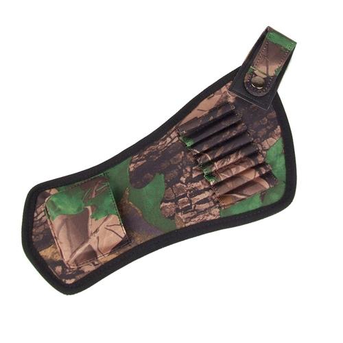 Oxford tessuto arco frecce titolare freccia faretra tubi cinghia accessori tiro con l'arco da caccia