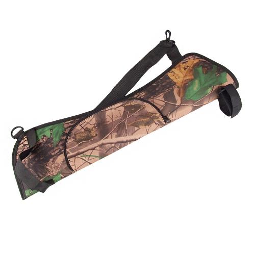 Oxford Gewebe Diagonal-Gürtel Pfeile Inhaber Pfeil Quiver Bag Jagd Bogenschießen Zubehör