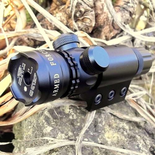 Laser rosso / verde Sight Tactical Scope Airsoft Rifle Scope caccia cannocchiale sport all'aria aperta