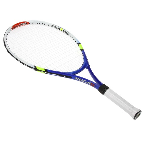 Aluminum Alloy Tennis Racket Children Tennis Racquet with Cover Bag for Training Exercise Blue