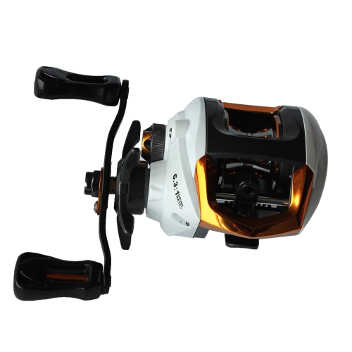 Lixada Baitcasting Fishing Reel 12+1 Ball Bearings 6.3:1 Gear Ratio High Speed Baitcast Baitcaster Reel with Magnetic Brake System
