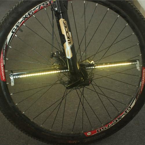 128 RGB LEDs Wasserabweisendes Anti-Shock Speichenlicht
