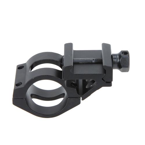 Montaggio della guida tattico 25.4mm Anello per Cannocciale Lampo di flash Torcia Attrezzo da caccia con Chiave