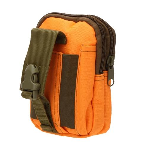 Outdoor-taktische Weste Tasche Portable Water Resistant Handy Geldbörse Hüfttasche