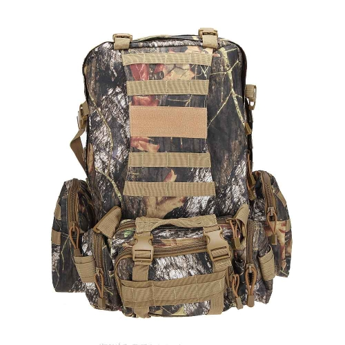 50 L 軟性屋外軍事戦術バックパック キャンプ ハイキング袋のトレッキング スポーツ リュックサック