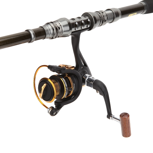 11+1 Ball Bearings 5.1:1 Right Left Hand Interchangeable Collapsible Handle Spinning Fishing Reel Fishing Gear