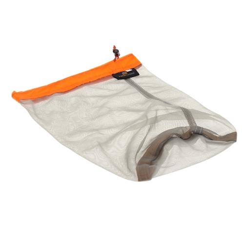 Ultraleggero coulisse maglia Stuff Sack sacca per Tavelling campeggio sport grandi/medie/piccole dimensioni