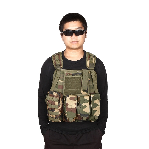SWAT Airsoft CS Paintball Tactical Hunting Combat Assault Vest Outdoor Training Waistcoat