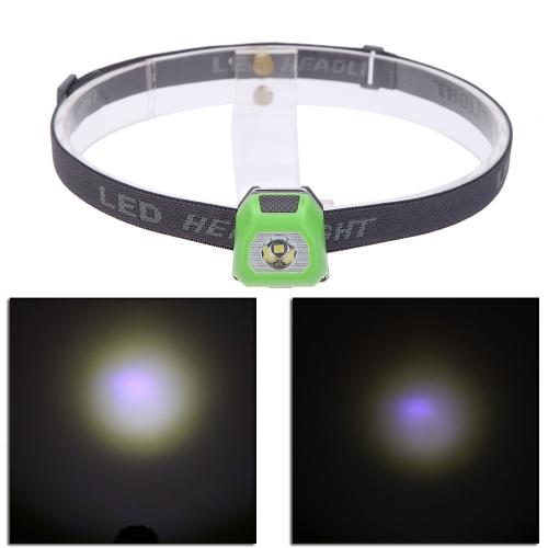 LEDヘッドライト 3モード 【明るさ120ルーメン】【防水】【光源 R3】夜の作業 夜釣り キャンプなどのアウトドア活動に適用