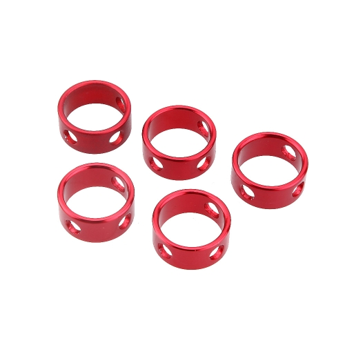5Pcs Outdoor Camping Aluminum Alloy Round Cord Guyline Runners Rope Tensioners