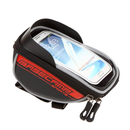 BaseCamp Mountain Road MTB Bike Bicycle Front Top Frame Handlebar Bag Cycling Pouch Touchable for 5.5