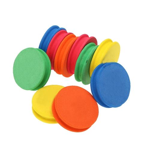Bobinas de espuma ultraligera 10pcs pesca gancho línea almacenamiento 5 colores