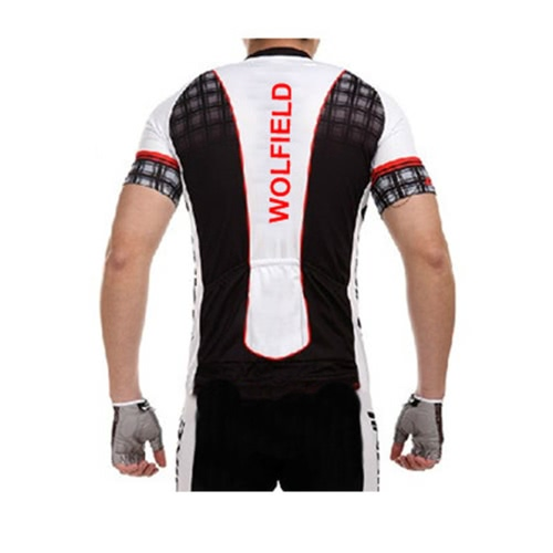 WOLFBIKE Men's Cycling Bicycle Bike Wear Outdoor Short Sleeve Jersey Breathable Shirt Riding Jacket