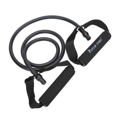 Naturkautschuk Latex Fitness Widerstand Widerstand Seil Exerciese Tube elastische Übung Armband für Yoga-Pilates-Training