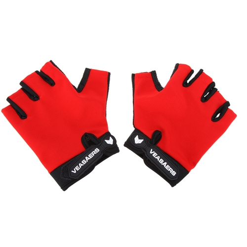 Traspirante anti-scivolo guanti Sport Outdoor MTB tattiche Fitness guanti mezze dita