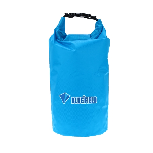ブルーフィールド10L防水 ストレージバッグ ドライバッグ アウトドア 旅行 キャンプ ラフティング ストラップフック付き【並行輸入】
