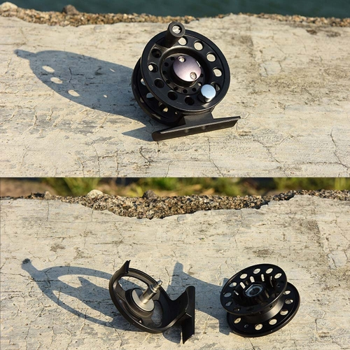 3BB Ball Bearing Full Metal Fly Fish Reel Former Rafting Ice Fishing Vessel Wheel Left/Right Interchangeable thumbnail