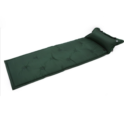 183 * 57 * 2.5cm Waterproof Automatic Inflatable Self-Inflating Dampproof Sleeping Pad Tent Air Mat Mattress with Pillow for Outdoor Camping