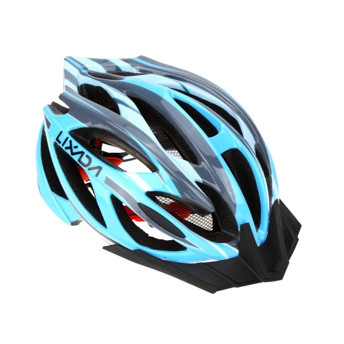 Lixada 21 Vents Ultralight Integrally-molded EPS Outdoor Sports Mtb/Road Cycling Mountain Bike Bicycle Adjustable Skating Helmet