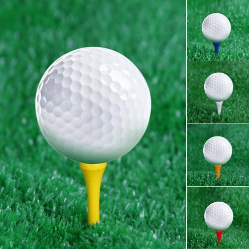 Lixada 100pcs 83mm mischte Farben Holz Golf Tees