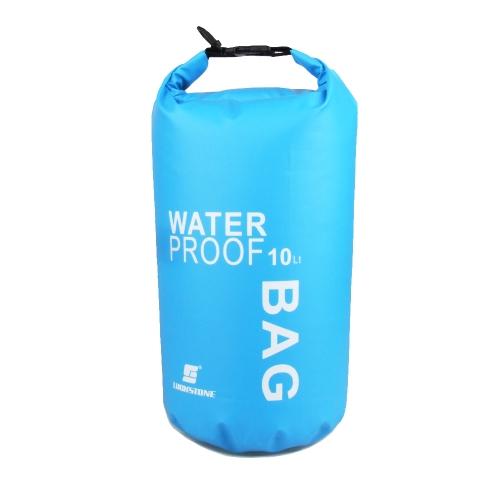 Bolsa seca impermeable Ultralight 10L para viajes al aire libre, Rafting kayak nadando a la deriva