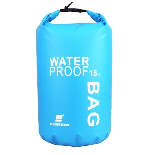 15 Л ультралайт водонепроницаемый мешок сухой для открытый путешествий, рафтинг, дрейфующих каякинг плавательный
