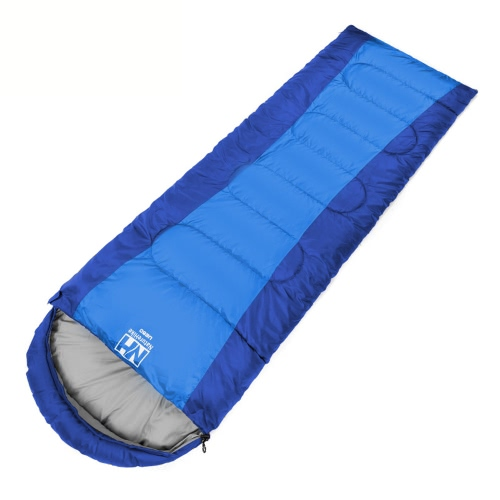 1.5kg NH屋外トラベルポータブル封筒フード付き寝袋超軽量秋と冬キャンプの熱水耐性(190+30)*75cm【並行輸入品】