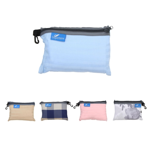 75*220cm Outdoor Travel Camping Hiking 100% Cotton Single Healthy Sleeping Bag Liner with Pillowcase Portable Lightweight Business Trip Hotel