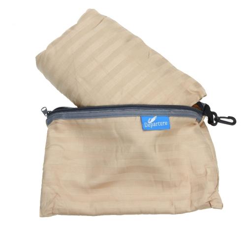 115 * 220cm viajes al aire libre Camping Senderismo saludable saco forro de 100% algodón con funda de almohada Portable ligero Hotel de viaje de negocios