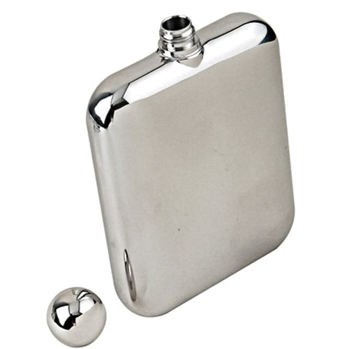 Lixada 6oz/170ml Outdoor Flachmänner Stainless Steel Mirror Polished Hip Flask Wine Pot Alcohol Flagon with Funnel