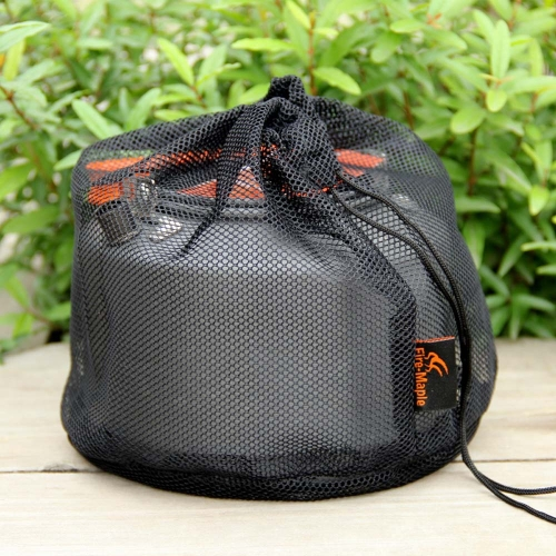 Fire Maple FMC-T4 1.5L Outdoor Camping Picnic Tea Pot Kettle with Tea Filter + Mesh Bag