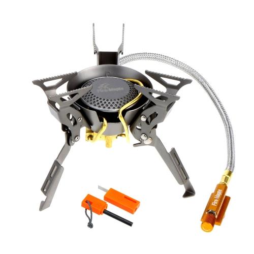 Огонь клен FMS-100т супер легкий Титан мини-Сплит плита с Флинт & мешок открытый кемпинг пикник