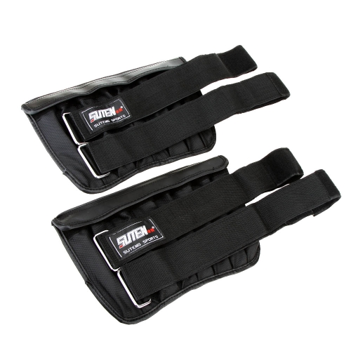 2pcs Max Loading 6kg Adjustable Weighted Leg Wrist Band Exercise Boxing Training Weight Loading Ankle Wrap