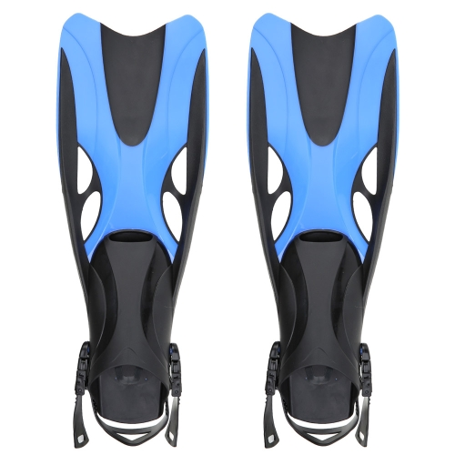 Adult Adjustable Submersible Long Fins Snorkeling Foot Flipper Swimming Diving