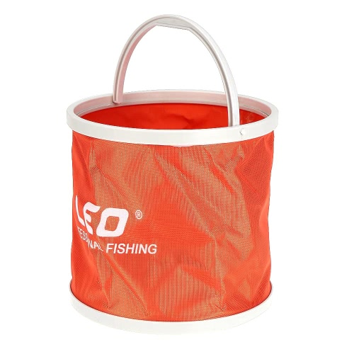 Canvas Folding Outdoor Portable Fishing Bucket