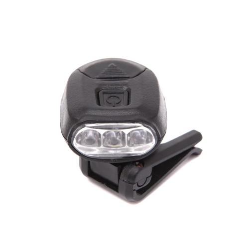 Lixada 3 LEDs Camping Lamp Clip Kappen Hut Licht Scheinwerfer Outdoor Camping Lampen Scheinwerfer