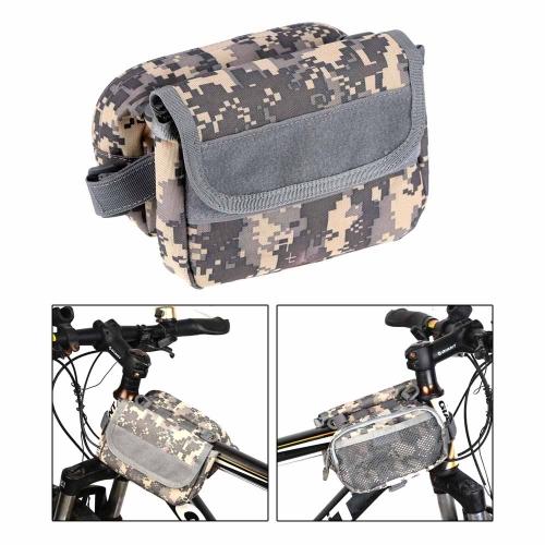 Lixada Borsa di bicicletta MTB impermeabile all'acqua con cinghia regolabile/Marsupio/escursionismo borsa/borsa girovita