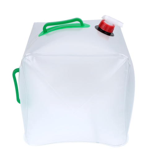 Lixada Sacchetto di acqua trasparente/ vettore Bevendo Acqua/ contenitore per all'aperto/ campeggio/ picnic, in PVC, pieghevole e portatile, 3L / 5L / 10L / 15L / 20L