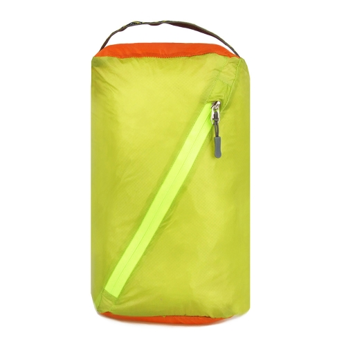 ウルトラライト スタッフバッグ ランドリーバッグ (靴、衣服、化粧品、食糧入れ)生活防水 手上げ 对角ジッパー付き