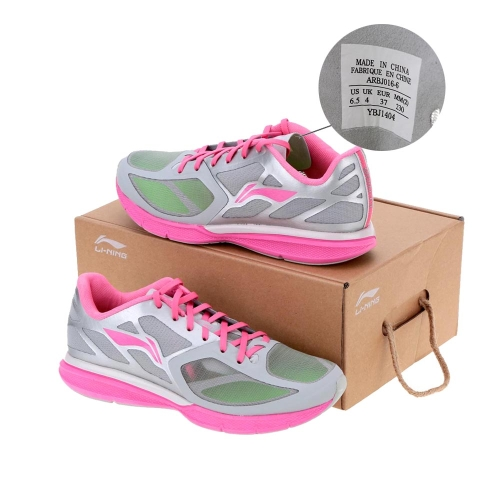 LI-NING 11 Поколений Ультра-лёгкая Женская Спортивная Обувь Легкие Кроссовки Ходьбы фото