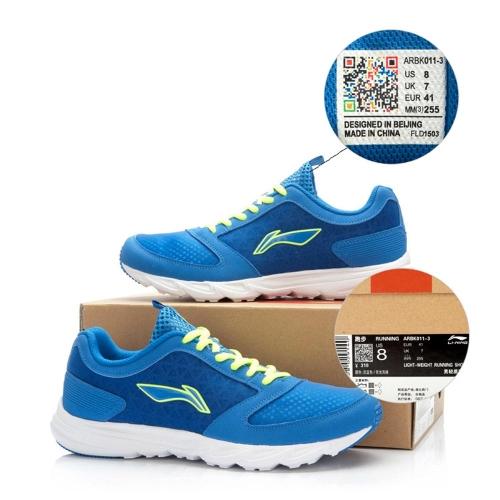 LI-NING uomini Sport Outdoor scarpe leggero scarpe da corsa ultra-leggero a piedi Sneakers