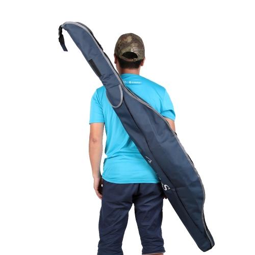 Lixada 1.6m Angelrute Tasche Lure Fishing Pole Tasche Leinentasche Umhängetasche Sea Fishing Tackle Getriebe
