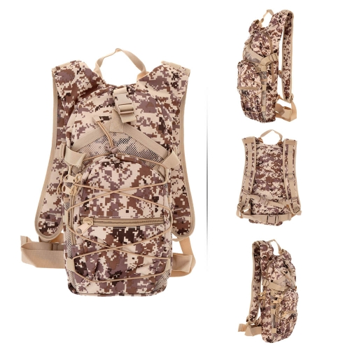 Unisex Outdoor Sports 25L Water Resistant Tactical Military Backpack