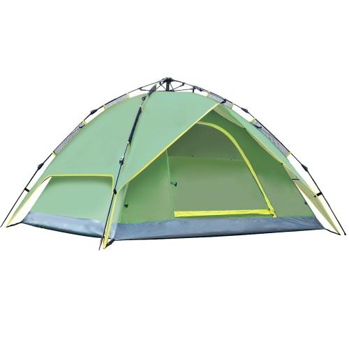 3-4 Persone doppi strati impermeabile traspirante tenda automatica con il sacchetto