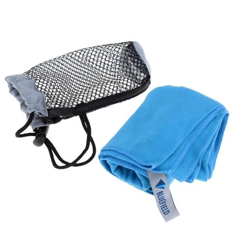 BLUEFIELD Seca-Rápido-Toallas De Microfibra Toalla Viajes Deportes Azul